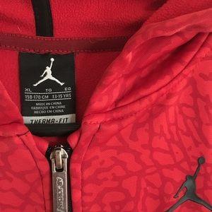 Nike Jackets & Coats - Jordan Nike jacket warm up boys xl size 13-15yrs